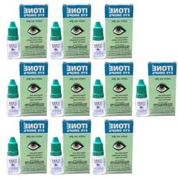 10 x I TONE Ayurvedic Herbal Eye Drops Natural Allergies FRE