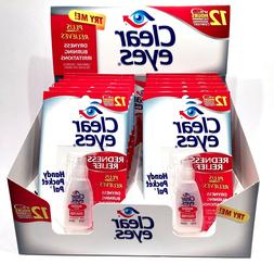 12 pack drops redness red eye relief