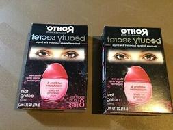 2 Rohto Beauty Secret Cooling Eye Drops 0.4 FL Ounce Exp. 12