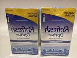 2/Refresh Optive Lubricant Eye Drops 60Single-Use Containers