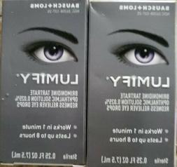 2-Pack - Lumify Redness Reliever Eye Drops 0.25 oz  each - F