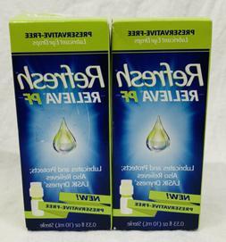 Refresh Relieva Preservative-Free Lubricant Eye Drops 0.33