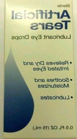 2pk Medtech Artificial Tears Sterile Lubricant Eye Drops 15