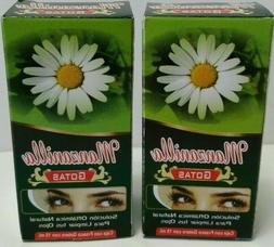 2x chamomile herbal eye drops gotas manzanilla