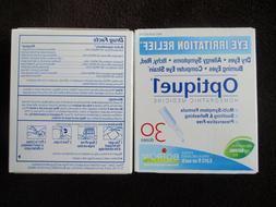 3 Boiron Optique 1 Eye Irritation Relief Eye Drops, 30 Count