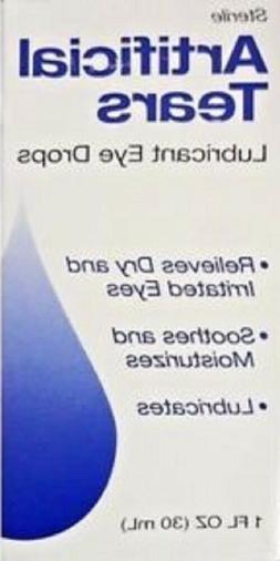 5 Pack - Sterile Artificial Tears Lubricant Eye Drops, 1 fl