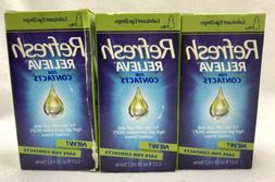 Refresh Relieva For Contacts Lubricant Eye Drops 0.27oz