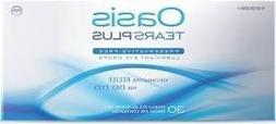 35 Vials Oasis TEARS PLUS Preservative-Free Lubricant Eye Dr