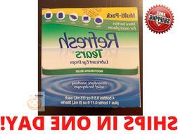 4 Plus 1 Bonus Bottle Refresh Tears Lubricant Eye Drops Mult