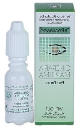5 X DR RECKEWEG CINERARIA MARITIMA EYE DROPS Without Alcohol
