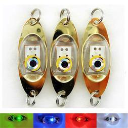 5Pcs LED Fishing Lure Deep <font><b>Drop</b></font> Underwat