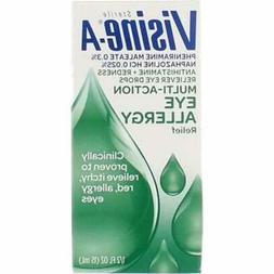 Visine-A Eye Multi-Action Eye Allergy Relief Drops - 0.5 fl