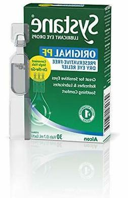 Alcon Systane Ultra Eye Drops High Performance Vials,  60 To