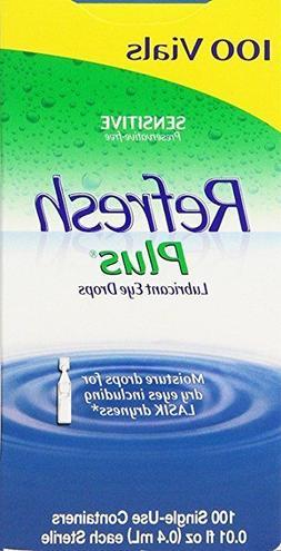 Allergan Refresh Plus Lubricant Eye Drops Single-Use Vials 2