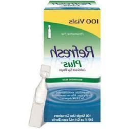 Allergan Refresh Plus Lubricant Eye Drops Single-Use Vials 1