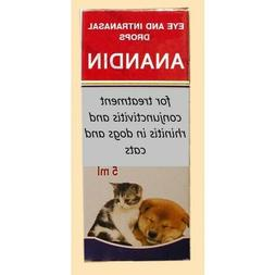Anandin eye & intranasal drops anti-inflammatory & antimicro