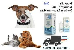 Antibacterial  eye drops for cats, dogs eye infection, redne