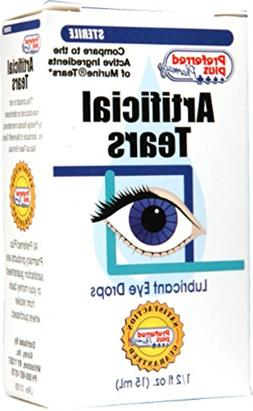 Artificial Tears Lubricant Eye Drops 15 ml