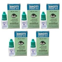 ITONE 5 X Ayurvedic Herbal Eye Drops Natural Allergies 10ml