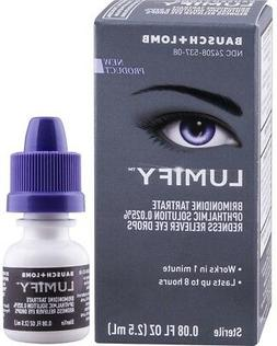 Bausch + Lomb Lumify Redness Reliever Eye Drops, 0.08 Ounce