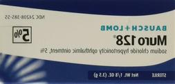 Bausch and Lomb Muro 128 5 Percent Ointment, 3.5 gm