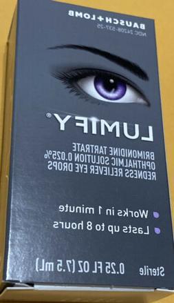 Bausch + Lomb LUMIFY Redness Reliever Eye Drops 0.25 fl oz F
