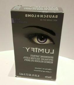 Bausch + Lomb Lumify Redness Reliever Eye Drops NEW EXP 12/1