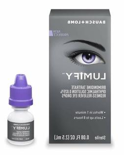 Bausch + Lomb Lumify Redness Reliever Eye Drops 0.08 Oz, 2.5