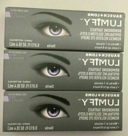 Bausch + Lomb Lumify Redness Reliever Eye Drops 0.4ml Exp10/