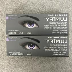 Bausch + Lomb Lumify Redness Reliever Eye Drops 0.4ml Exp 10
