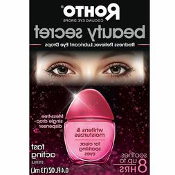 Rohto Beauty Secret Redness Reliever Cooling Eye Drops .4 oz
