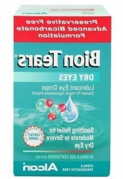 Bion Tears Lubricant Eye Drops 28 x 0.4ml   FREE SHIPPING