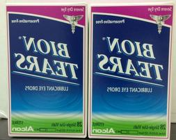 Bion Tears Lubricant Eye Drops Single Use Vials 28 Each by A