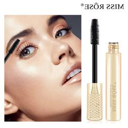 Black Waterproof Makeup Eyelash Long Curling Mascara <font><