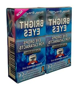 Ethos Bright Eyes™ Carnosine NAC Eye Drops - 2 Pack of 2 x
