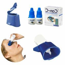 Can-C Eye Drops 2 x 5ml Vials with Eye Drop Guide Bundle   E