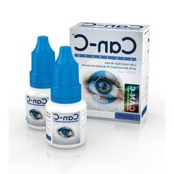 CAN-C Eye Drops 2 x 5ml Lubricant Eye Drops with Antioxident