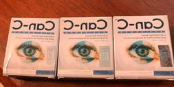 Can-C Eye Drops - Three Boxes: Contains Six 5ml Vials Exp. 9