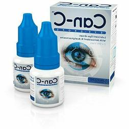 Can-C  Lubricant Eye Drops with N-Acetylcarnosine 2 X 5 ml F