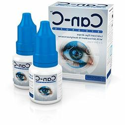 Can-C  Lubricant Eye Drops with N-Acetylcarnosine FREE Lens