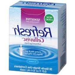 REFRESH CELLUVISC Lubricant Eye Gel Single-Use Containers 30