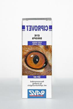 Ciprovet Eye drops for cats/dogs pet bactericidal and anti-i