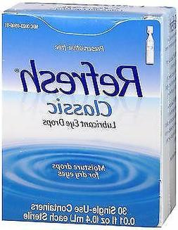 REFRESH Classic Lubricant Eye Drops Single-Use Containers 30