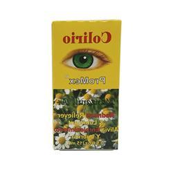 ProMex Colirio Chamomile Eye Drops. Herbal Redness Reliever