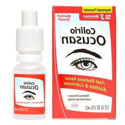 Colirio Ocusan® Eye Drops - Maximum Strength Redness Reliev