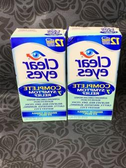 Clear Eyes Clear Eyes Complete 7 Symptom Relief Eye Drops, 0