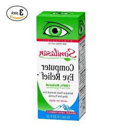 Similasan Computer Eye Relief Eye Drops .33-Ounce Bottles ,