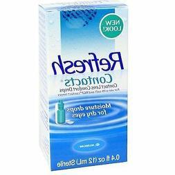 Refresh Contacts Contact Lens Comfort Drops -- 0.4 fl oz 2 P