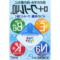 Rohto Cool 40 α Alpha Cooling Japanese Eye Drops with Vitam