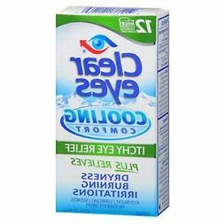 Clear Eyes Clear Eyes Cooling Comfort Itchy Eye Relief Drops